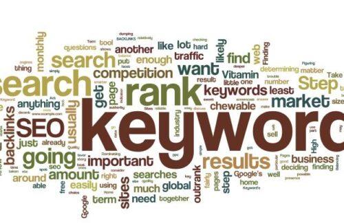 Analýza klíčových slov a informační architektura